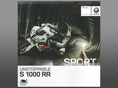 BMW S1000RR Motorcycle Brochure 2014