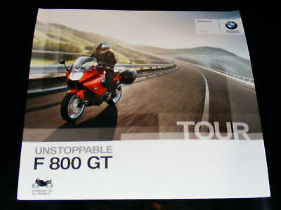 BMW F800GT Motorcycle Brochure 2013