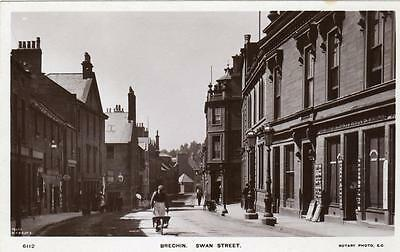 Brechin High Street Nr Montrose unused RP old pc Rotary