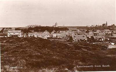Lossiemouth from South unused RP pc 1929 Valentines