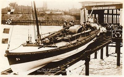 Margate Lifeboat Dedication Lord Southborough RP pc used 1926 ?