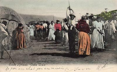 South Africa Cake Walk pc used 1905