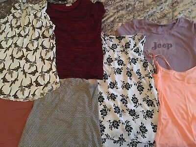 Woman's Clothes bundle size 10/12 clothes bundle tops and shirts