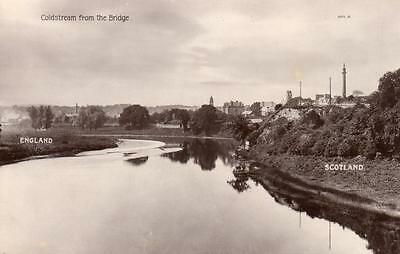 Coldstream from the Bridge RP pc used 1921 J Landreth