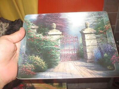 1999 THOMAS KINKADE Nature's Retreats THE OPEN GATE 12th in Series PLATE