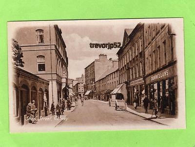 Shop Street Galway unused old pc M T Donnellan Ref A785