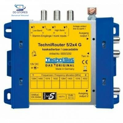 TechniSat 5/2x4 G-R TechniRouter (Unicable-Multischalter)