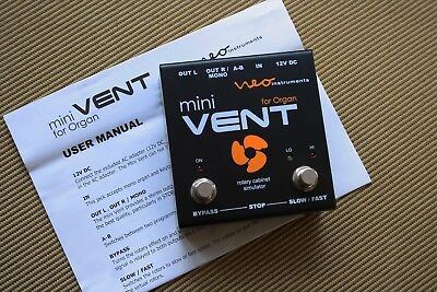 NEO Instruments mini VENT for Organ Boxed Complete Superb Quality and Condition