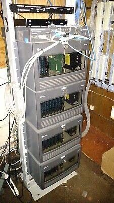 Mitel SX-200 Charcoal Phone System Cabinet NO CARDS OR POWER SUPPLY