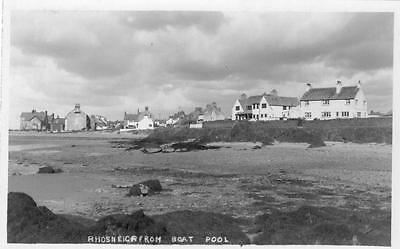 Rhosneigr from Boat Pool unused RP old pc