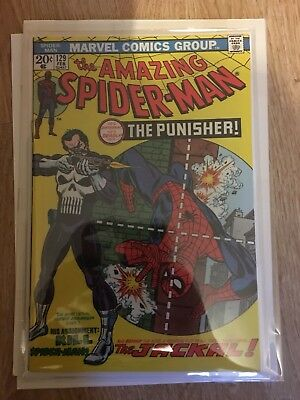 Amazing Spider-Man #129 1st Appearance Of The Punisher.