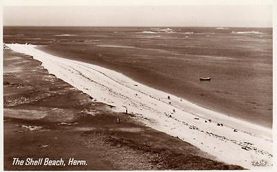 The Shell Beach Herm unused RP old pc Photo Precision