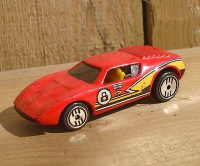 VINTAGE 1987's AMC AMX/2 ROAD TORCH HOT WHEELS COLLECTIBLE DIECAST MODEL TOY CAR