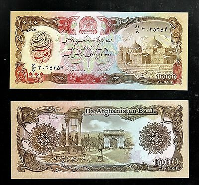 Afghanistan In Middle East, 1 Note Of 1000 Afghanis 1979 Unc