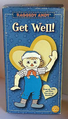 Raggedy Andy Doll - Get Well - Hasbro / Applause 2003 - Sound Not working