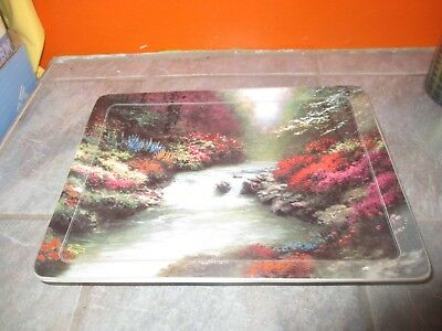 1999 THOMAS KINKADE Nature's Retreats BESIDE STILL WATERS 8th in Series PLATE