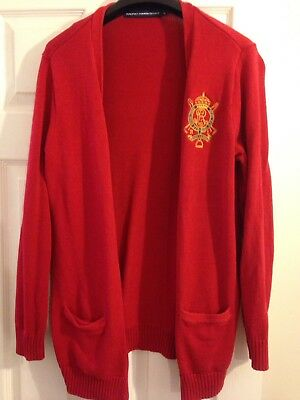 Ralph Lauren Cardigan Size Xl Women's 14/16