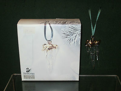 SWAROVSKI MEMORIES *NEW* Stalactite Sapin Ornament Icicle Christmas 211087 6cm