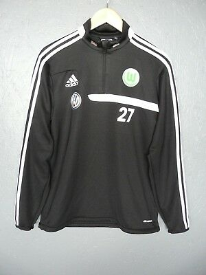 Wolfsburg Adidas 1/4 Zip Training Jacket VW Sz Medium (012)