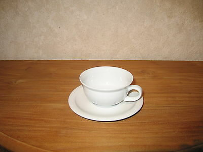 ESCHENBACH *NEW* TODAY BLANC Tasse à thé 22cl avec soucoupe Cup with coaster