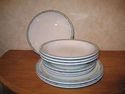 ESCHENBACH *NEW* SIX Set 9 assiettes Plates