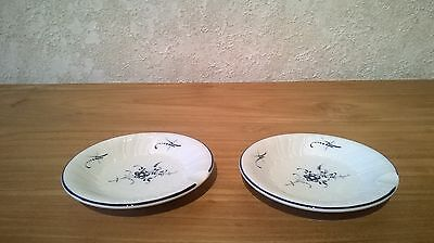 VILLEROY & BOCH *NEW* Vieux Luxembourg Set 2 Cendriers V&B