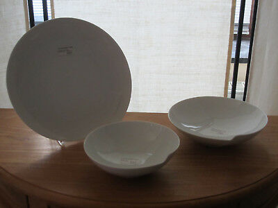 ROSENTHAL *NEW* PAPYRUS Set 3 assiettes Set 3 plates