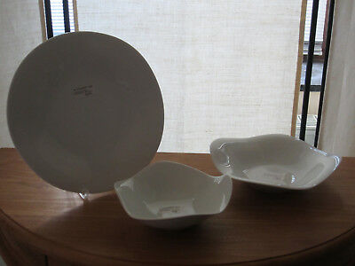 ROSENTHAL *NEW* NIMBUS Set 3 assiettes Set 3 plates