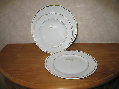 PHILIPPE DESHOULIERES *NEW* DOME OR 6609 Set 3 Assiettes Set 3 plates