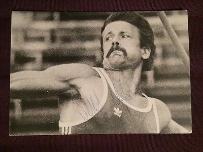 Michel Detlef Summer Olympics Track and Field Autographed Signed Photo