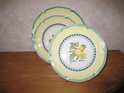 VILLEROY & BOCH *NEW* FRENCH GARDEN Valence Set 3 Assiettes Set 3 Plates