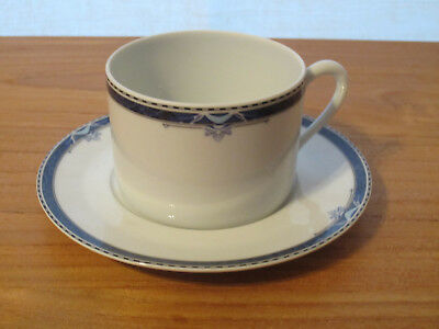 PORCELAINE CNP *NEW* OXFORD PARTHENON 1 tasse + soucoupe 1 cup