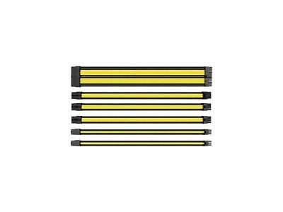 Thermaltake TtMod Sleeve Cable (Cable Extension) - Yellow/Black
