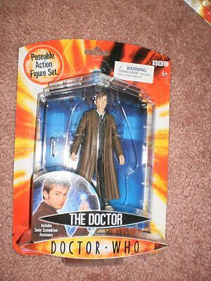 BBC Doctor Who  - The Doctor (Includes Sonic Screwdriver accessory)   MIP