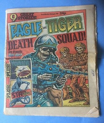 Eagle and Tiger comic dated 27th April 1985