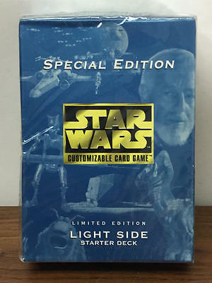 Star Wars Ccg Special Edition Light Side Starter Deck Sealed