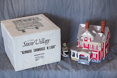 """Department 56 Snow Village """"KENWOOD SNOWHOUSE"""" 5054-7 in BOX"""