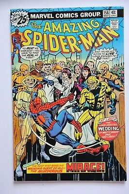 Amazing Spider Man #156 Bronze Age Marvel Comic May 1976