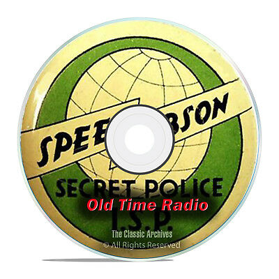 Speed Gibson, 722 Old Time Radio Shows, Detective Crime Drama mp3 DVD G77
