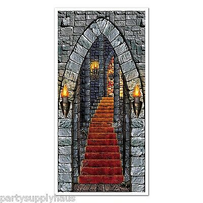 GAME of THRONES Medieval Castle DOOR COVER Party Decoration RENAISSANCE