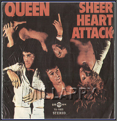 1974 Queen - Sheer Heart Attack (Taiwan Album) Rare (Nm)