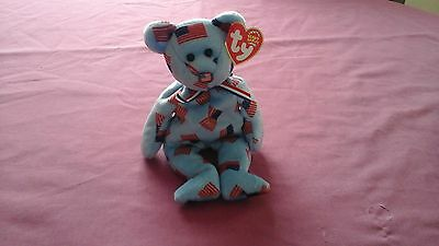 TY beanie babies   Union flag nose 1 August 2003