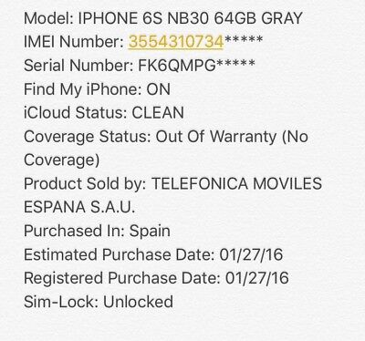 Check iPhone imei info World - Icloud / FMI / SimLock / Sold by / Carrier