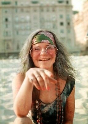JANIS JOPLIN (2) TWO 4X6 photo picture print