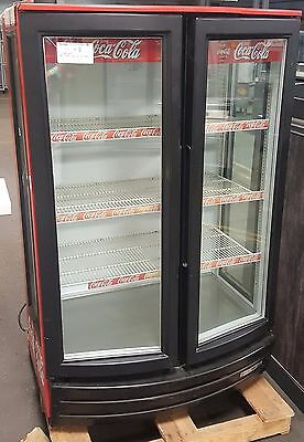 Beverage Air MM14GE Soda / Coke Display Cooler / Refrigerator USED