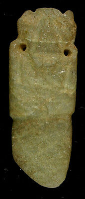 Great Pre-Columbian Jade Axe God - Costa Rica