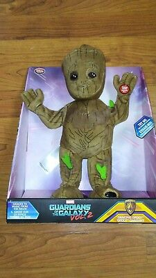 NEW Disney Store Guardians of the Galaxy Vol 2 Dancing Plush Baby Groot