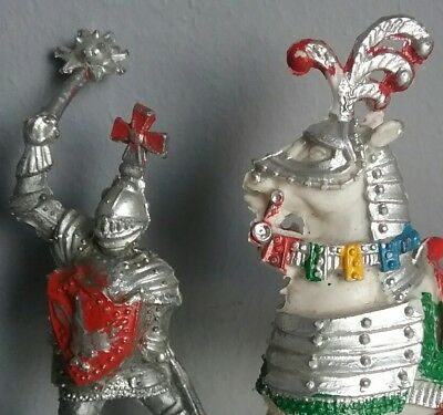 Medieval knights - Caballeros medievales  LAFREDO toy soldiers '60 made in Spain