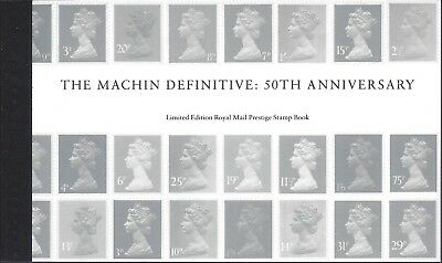 Machin 50Th Limited Edition Prestige Stamp Booklet Psb Only 500 Issued