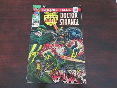 Strange Tales #155 (Apr 1967, Marvel) Nick Fury Dr Strange VF-